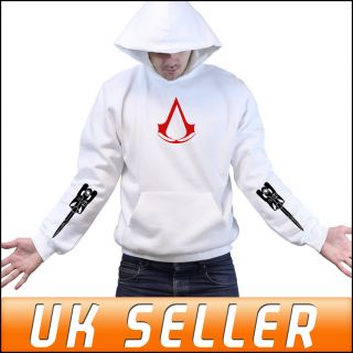 Assassins Creed 3 Join or Die PS3 Limited Blade Hoody Hoodie Mens Childrens