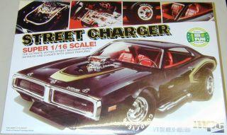 1 16 Large 1971 Dodge Street Charger Model Kit MPC 1971 Dodge Charger 1 16 Kit