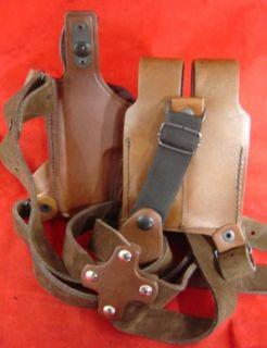 Tagua Brown Leather Shoulder Holster Glock 17 22 31 RH