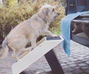 Portable Pet Steps Ramp Plastic Stairs Dog Cat Puppy Senior Non Slip E4635