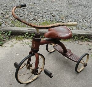 Vintage Antique Children's Murray or Siebert 1930s Tricycle