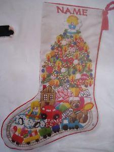 Sunset Crewel Stitchery Stocking Kit Christmas Fantasy