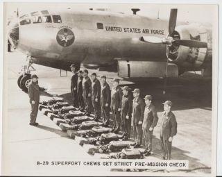 1951 Crew Training Air Force Pilots Photo Album 12 Pictures Randolph AFB Texas