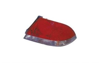 Passenger Side Replacement Red Clear Tail Light 04 06 Mitsubushi Lancer MN161946