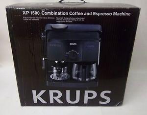 krups xp1500 combination coffee espresso machine