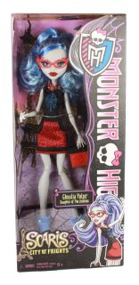 Monster High Scaris Travel Doll Abbey Bominable Rev 1 Ships Fast