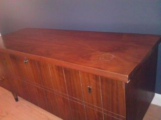 Midcentury Modern Lane Cedar Hope Chest Princess Wood