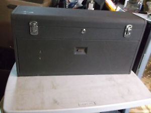 Preowned Used Kennedy 526 8 Drawer Machinist Tool Box Brown Wrinkle Clean