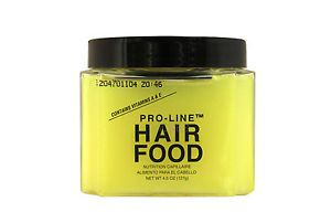Pro Line Hair Food with Vitamins A E 4 5 Oz