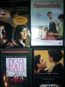 24 DVD Lot New and Old Movies Horror Comedy Romance