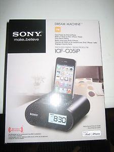 Sony Clock Radio iPod iPhone Radio 27242780910