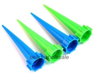 4 Pcs Cone Watering Spike Garden Plant Flower Waterers Bottle Irrigation System