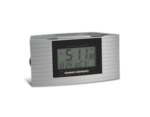 Atomic Clock Self Setting Dual Alarm Clock Radio RC402W