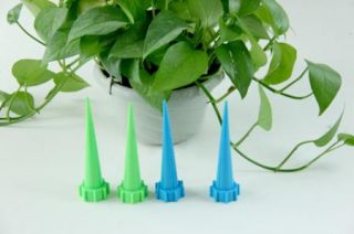 4pcs x Garden Watering Spike Plant Flower Waterers for Bottle Irrigation System