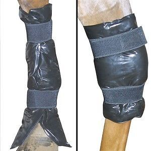 Kool It Compression Gel Leg Wraps Ice Pack Horse Cold Therapy Hock Tendon Boots