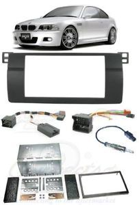 BMW 3 Series E46 Complete Double DIN Stereo Fitting Kit