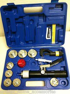 """Yellow Jacket 60493 Hydraulic Tube Expander Kit 3 8"""" 1 5 8 O D Complete Kit"""