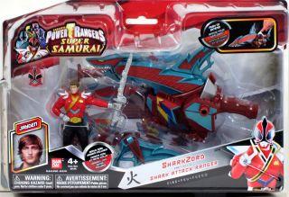 Bandai Power Rangers Super Samurai Sharkzord Ranger Jayden Shark Zord MMPR