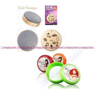 Nail Art Stamp ENAS Design Image Stamping DIY Stencil Printing Salon Stamper 29
