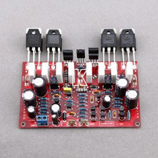 350W 2 One Pair of L20 Stereo Audio Power Amplifier Board Kit Amp