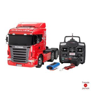 New Tamiya 1 14 RC Radio Control Big Truck Scania R620 High Line Full Operation