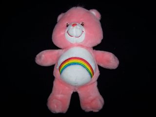 "Care Bears 2003 Cheer Bear 12"" Talking Electronic Plush Toy"
