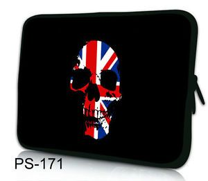"Skull 12"" Laptop Sleeve Case Bag for Samsung Ativ Smart PC Pro 700T 11 6"" Tablet"
