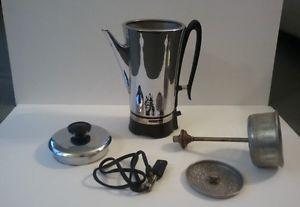 Vintage Universal Coffeematic 12 Cup Electric Percolator Coffee Pot Maker C4531