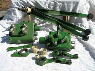 John Deere 140 H 3 Second Generation Hydraulic Control Valves B 189 REDUCED