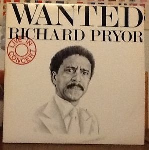 "Richard Pryor ""Wanted"" LP Vinyl Comedy Album"