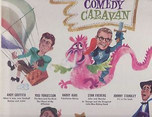 Andy Griffith Stan Freberg Comedy Caravan Comedy LP