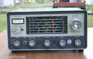 Hallicrafters SX 140 Ham Band Communications Receiver