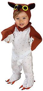 Lil' Wise Guy Owl Bird Animal Cute Dress Up Halloween Baby Infant Child Costume