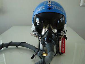 USAF Vietnam Pilot Flight Helmet USAF HGU 2 P Consolidated Components Corp