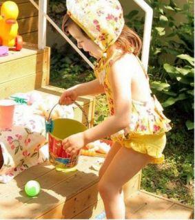 Girls Baby Cherry Blossoms Tankini Bikini Swimsuit Swimwear Swimming Costume 2 6