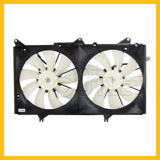2002 2003 Lexus ES300 Radiator Cooling Fan LX3115107 Motors Blades Shroud Assy