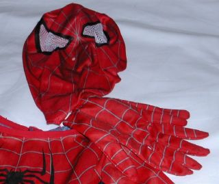 Spiderman Costume Size 4 6