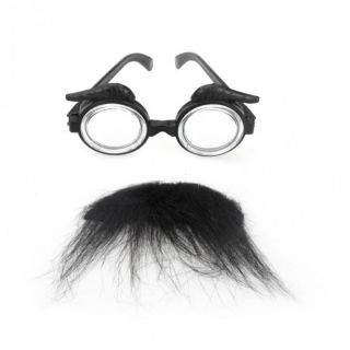 Funny Glasses for Halloween Masquerade Cosplay Makeup Party Costume Props