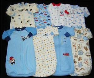 Baby Boy Sleep Sack Pajama Clothes SleepSack M OS Sacks Boys One Size 0 9 M