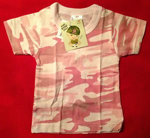 Baby Girl Clothes Rothco Baby Girl Pink Camouflage Baby Shirt 6863
