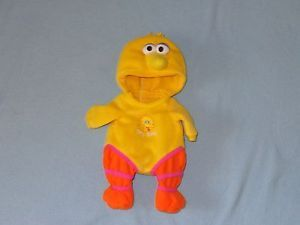 "Lauer Water Baby Disney Sesame Street Big Bird Outfit Clothes for 13"" Doll"