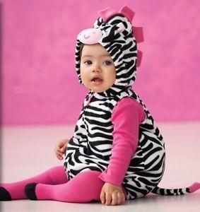 carters zebra baby girls halloween costume size 6 9 months nwtsretail