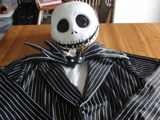 Adult Mens Jack Skellington Nightmare Before Christmas Halloween Costume