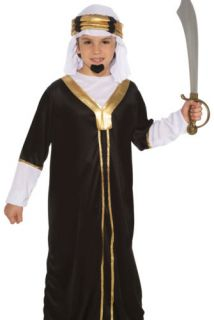 Kids Boys Sultan Sheik Wise Man Halloween Costume