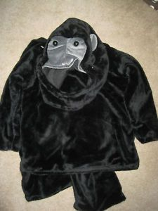 New Pottery Barn Kids Gorilla Ape Halloween Costume 2T
