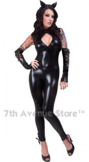 Black Panther Cat Costume Adult Women Woman Halloween