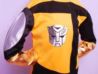 Halloween Transformers Bumble Bee Boys Costume Sz 3T 4T