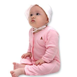 Made in Korea Lovely Bear Baby Boy Girl Infant Cotton Clothing OA 951 Pink