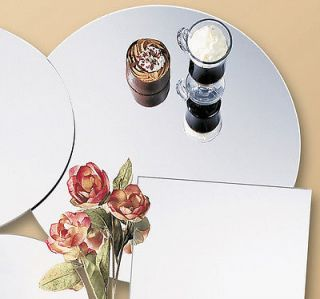 Round Table Mirrors 10 Inch Wedding Centerpiece Pack 3 Decorations