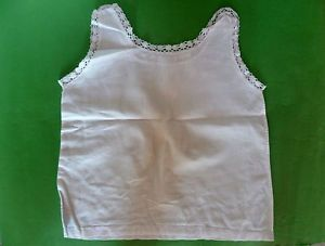 2 Antique French Doll Clothes Linen Baby Doll Underwear Dresses